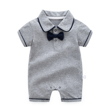 Baby Boy Girl Rompers Clothes Jumpsuits Birthday