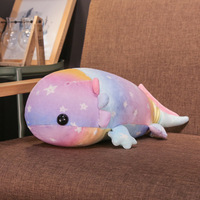 Cynops Orientalis Plush Toys for Children Cute Cartoon Rainbow Salamander Sofa Cushion Kawaii Pillow Soft Stuffed Plush Doll
