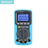 all sun 3in1 Digital Multimeter Voltmeter Ammeter Ohmmeter DC AC EMF Multimeter Automotive Tester EM5511