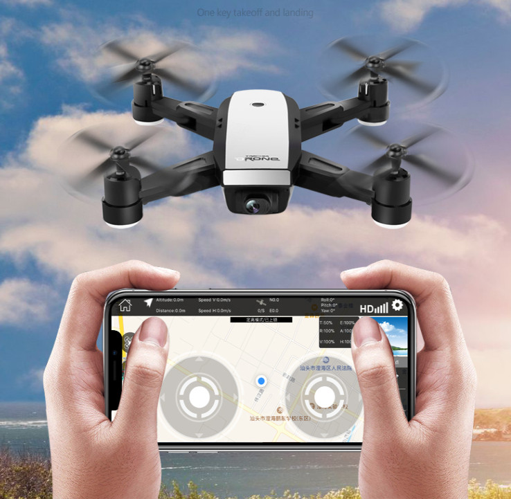 Foldable Drone GPS WiFi HD Camera FPV Altitude Hold Mode Folden dron Remote control quadcopter children Aircraft quad Selfie ...
