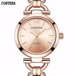 Neue Mode Rose Gold Frauen Uhr Minimalismus Einfache Stilvolle Luxus Casual damen Uhren Wasserdicht Kleid Armbanduhr für Weibliche