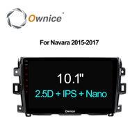 Ownice C500+ 10.1 IPS 2.5D Car GPS DVD Player Radio Android 6.0 Octa Core For Navara 2015 2017 Car Audio Head unit Sat Navi 32G