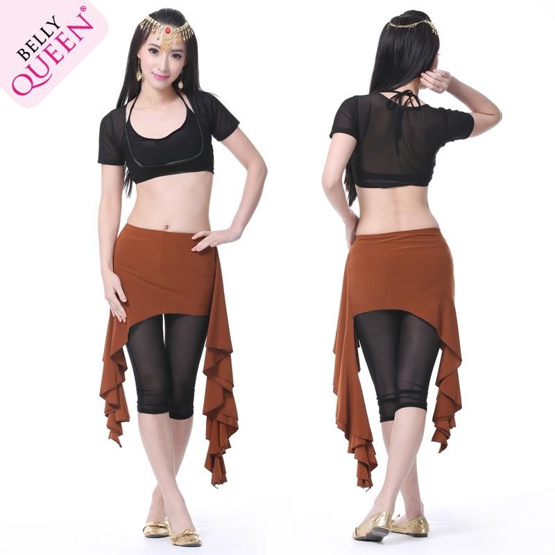 Crystal Cotton Waist Skirt Belly Dance Hip Scarf  Hip Waist Belt