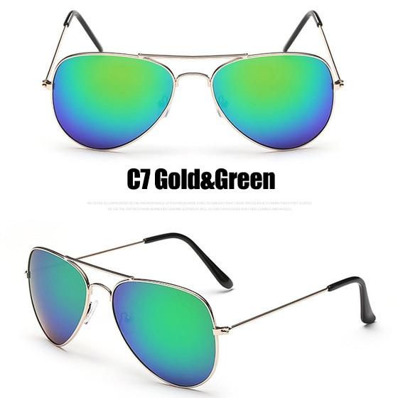 C7 Gold Green