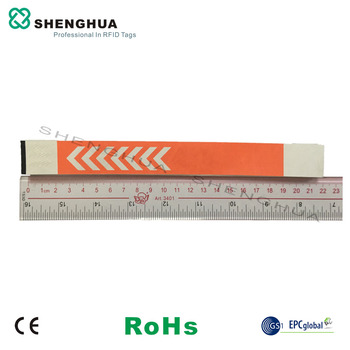 200pcs/pack Low Cost Alien h3 Chips RFID Passive UHF Wristband Tyvek Label Sticker Tag Event Ticket For Concert