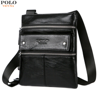 VICUNA POLO New Arrival Fashion High Quality Mens Messenger Bag Patchwork Color Shoulder Bags For Male