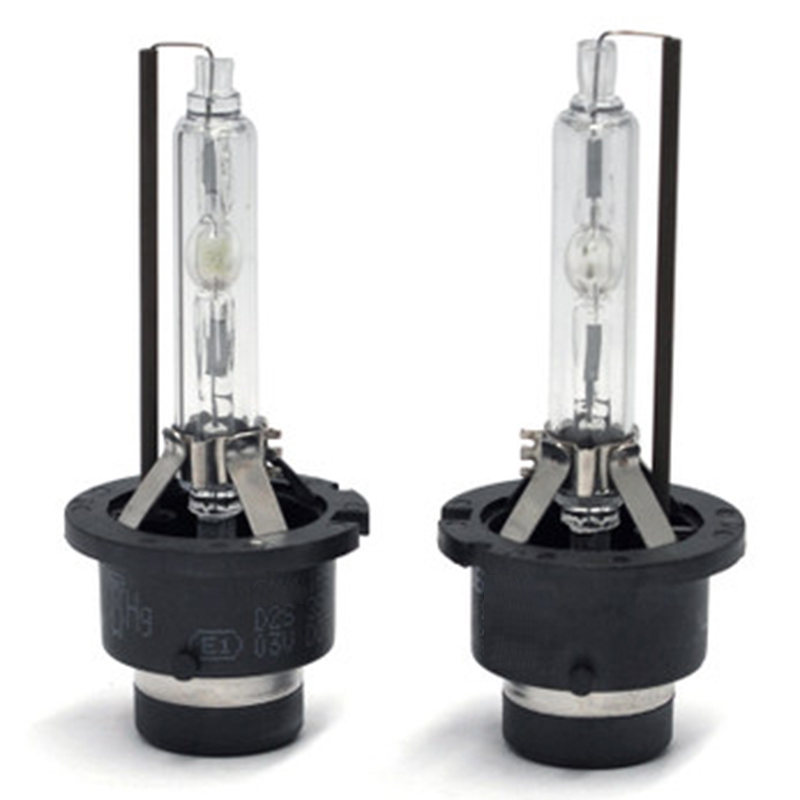 2PCS 55W 12V D2S AC HID Xenon Bulbs with Metal Hold All Color 4300K 5000K 6000K