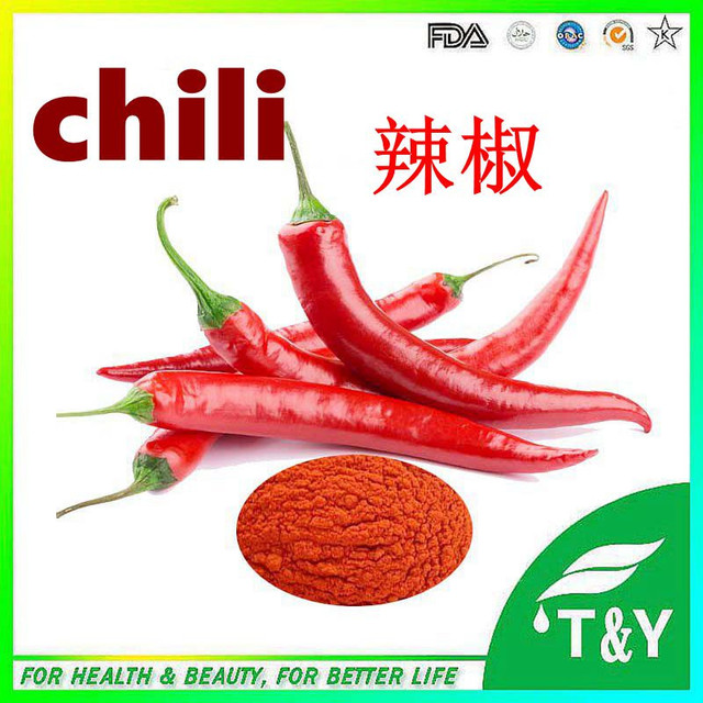 chili extract Effect of chili pepper extract on weight and fat loss and metabolism increase  0mg chili pepper extract.