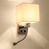 E27 регулируемый светодиодный светильник настенный защиты глаз чтение исследование лампы для Спальня коридор