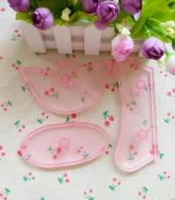 2016 Delicate Plastic Fondant Baby Bootee Mold Cake Bebe Shoe Cutter Cake Decorating Tools 3pcs/set(China)