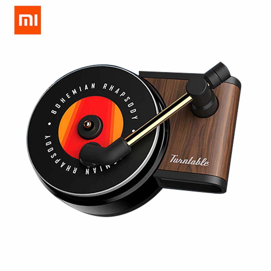Original Xiaomi Mijia Sothing TITA Turntable Phonograph Car Fragrance Car Air Freshener with 3pcs Replace Aromatherapy Tablets