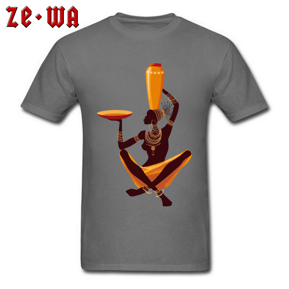 50ec3d6b16f african art painting exquisite Round Neck T-shirts Summer Autumn Normal  Tops Shirts Short