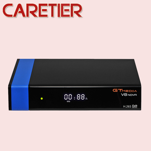 Image 4 - 2019 GTmedia V8 Nova Blue DVB S2 HD Satellite receiver Support H.265 TV Ccam Newcamd powervu Biss Built WiFi Set Top Box New
