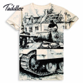 Taddlee Brand Mens T Shirts Men Casual Short Sleeve T-Shirt O Neck Cotton Mens 3D Printed tshirt The Greatest Man Tops Tees
