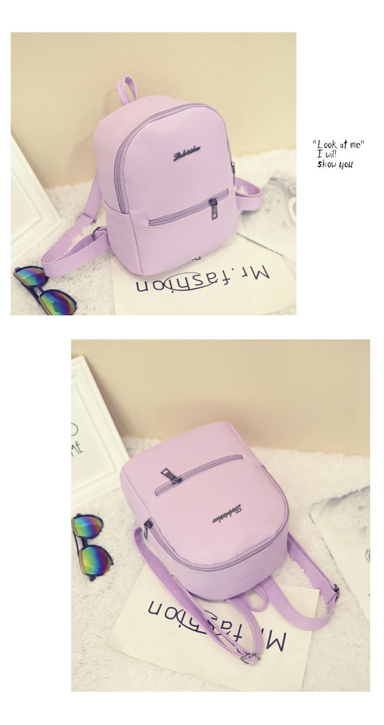 HTB1HH2Bkcj B1NjSZFHq6yDWpXaY 2019 New Backpack Summer Small Women Backpack Candy Color Student Travel Shoulder Bags Teenager Girls Female Mochila Bagpack