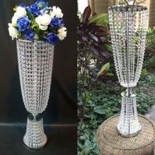 Украшение свадебного стола для искусственных шелковых цветов/держатель цветочных букетов/Подставка для торта/Вечерние Декорации для стола(высота 100 см