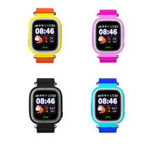 New Arrival Q90 GPS Phone Positioning Children Watch 1.22 Inch Color Touch Screen SOS Smart Watch(China)