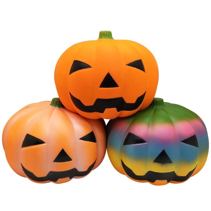 Oyuncak Antistress Fun Giant 27cm Jumbo Pumpkin Squish Toys Entertainment Surprise Popular Practical Novelty Gag Toys For Kids