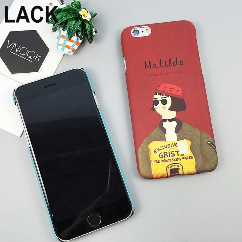 LACK Fashion Cartoon Professional Killer Leon och Mathilda Cover för - Reservdelar och tillbehör för mobiltelefoner - Foto 4