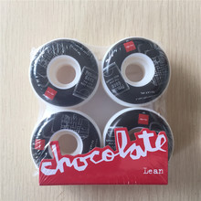 50mm-53mm 101A USA chocolate skateboard wheels made by High density PU 4 Wheels for Skate Trucks Parts to set up for the board