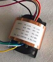 35V 0.21A 35V 0.21A R Core Transformer 15VA R10 custom transformer 115V/115V copper shield output for Pre amplifier Power supply