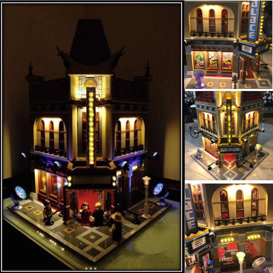 LED light kit (only light included) for lego 10232 Compatible with 15006 Creator Palace Cinema ( bricks set not included)