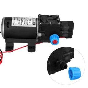 Image 5 - DC 12V 100W diyaframlı su pompası küçük güvenli yüksek basınçlı kendinden emişli pompa yüksek kaliteli 160PSI 8Lpm pompa yapmak wody mini pompa