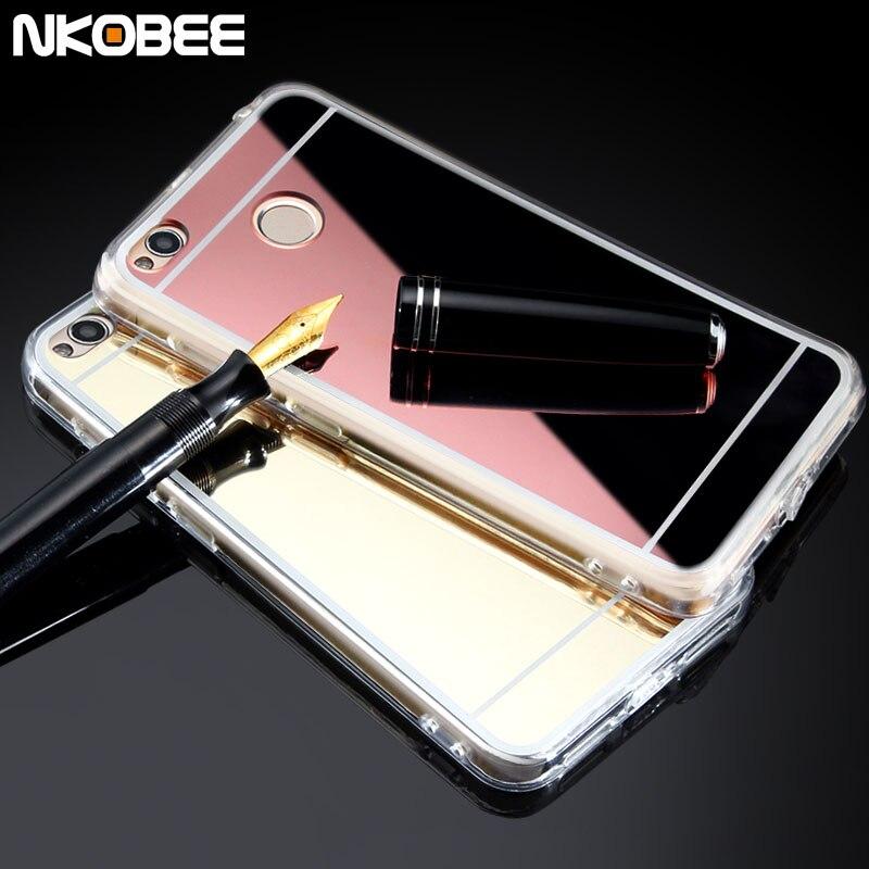 innovative design 390c1 5af0d US $3.24 |Aliexpress.com : Buy Redmi 4x Case NKOBEE Mirror Soft TPU Xiaomi  Redmi 4X Case Mobile Phone Cases For Xiaomi Redmi 4X Silicone Covers Funda  ...
