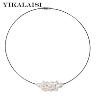 2018 new Fashion Natural freshwater Pearl Chokers Necklaces pearl Jewelry For Women 40cm wholesale New summer products