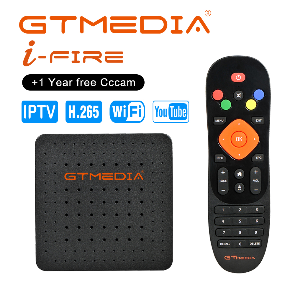 New Arrival GTmedia IFIRE TV Box 4K HDR STB BOX Ultra HD WIFI Xtream IPTV Stalker IPTV Youtube Set Top Box Media Player Internet