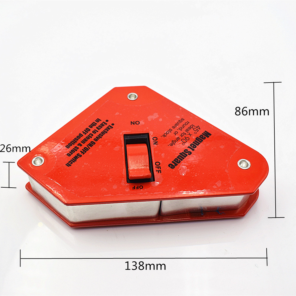 1pcs Multi angle magnetic welding tool welding holder suction iron magnet Neodymium Magnetic Clamp 30BLS 13.6kg hilda magnetblock strong magnetic tool wearing a helicopter suction magnetic receive article