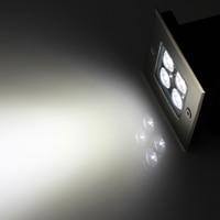 Impermeabile IP67 di Alto Potere 4X1 W LED Metropolitana Luci Illuminazione Bianca a led Sepolto luci da parete a led Lampada Sotterraneo AC85-265V
