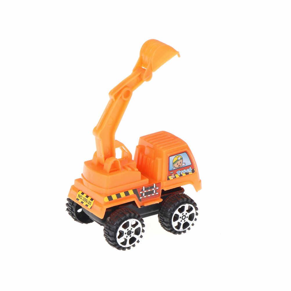 Mobil Mainan untuk Anak-anak Traktor Truk Mainan Mobil Lucu Mobil untuk Anak Laki-laki Tarik Kembali Model Mobil Anak-anak Mainan Lucu hadiah