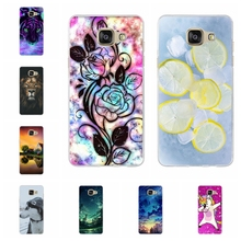 For Samsung Galaxy A5 2016 Case Soft TPU For Samsung Galaxy A5 2016 A510 A510F Cover Animal Patterned For Samsung A5 2016 Shell цена и фото