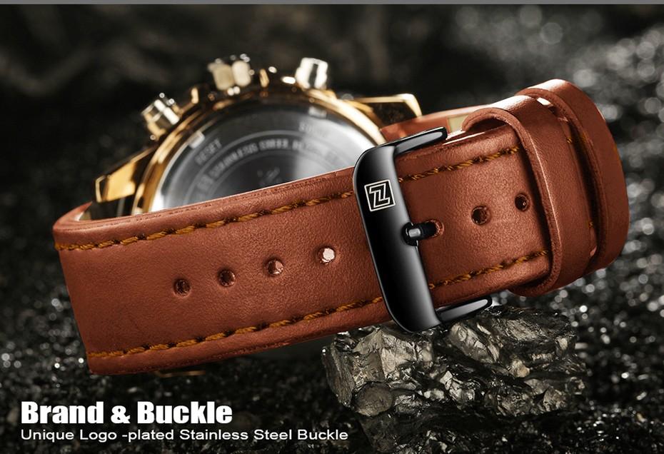 Top Luxury Brand NAVIFORCE Men Sport Watches Men's Quartz LED Analog Clock Man Military Waterproof Wrist Watch relogio masculino 5