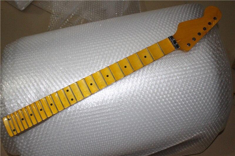 De calidad superior 24 Frets inlay dots Cuello de la Guitarra Eléctrica Al Por M