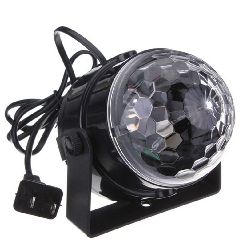 LEDGOO font b LED b font RGB Crystal Magic Ball Mini Stage Effect Lighting font b