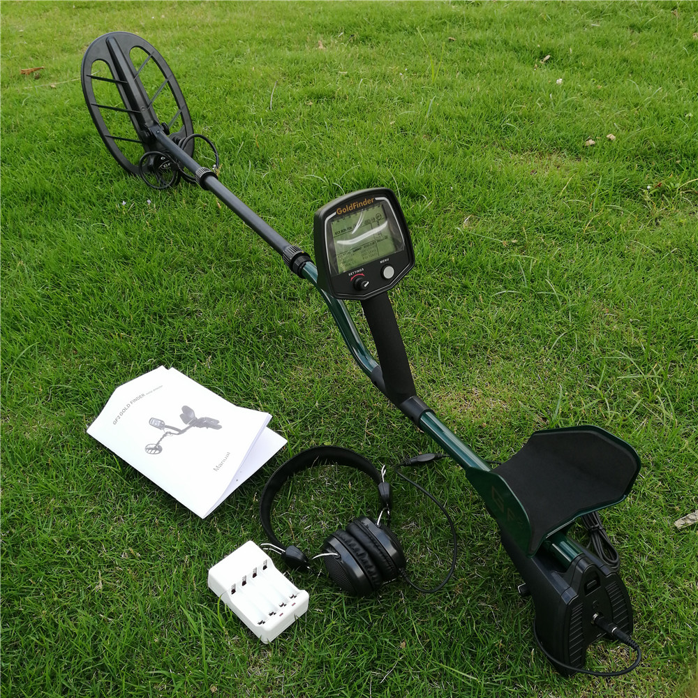 Professional Underground Metal Detector GF2 Gold Finder Deep Search Gold Detector High Performance Probe