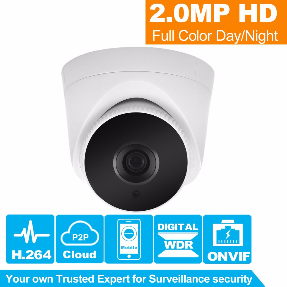 HiSecu HD PoE IP Camera 1080P Indoor Dome Cam IR Lens 3.6mm 2MP IP CCTV Security Camera Network Onvif P2P Android iPhone poe audio hd 1 3mp 960p outdoor ir network ip camera 36 ir security onvif 2 1 p2p