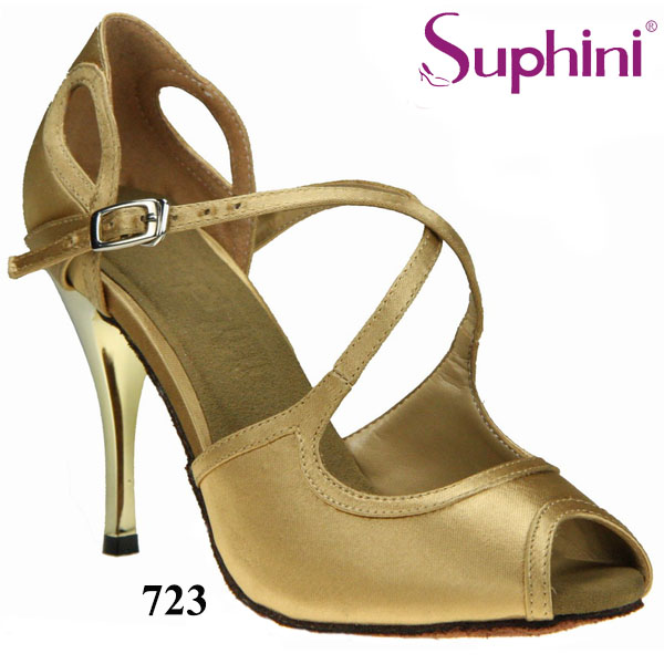 Free Shipping Suphini Wedding Party Shoes Satin Woman Ballroom Suede soleTango Dance Shoes Zapatos De Baile Latino