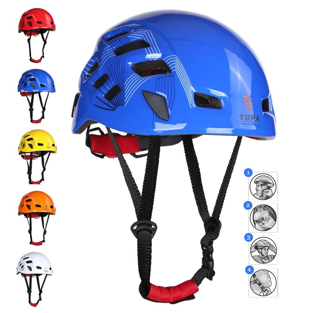 цена на Outdoor Sports Equipment Safety Helmet For Rock Climbing Caving Rescue Drifting Riding Downhill Expansion And Mountaineering