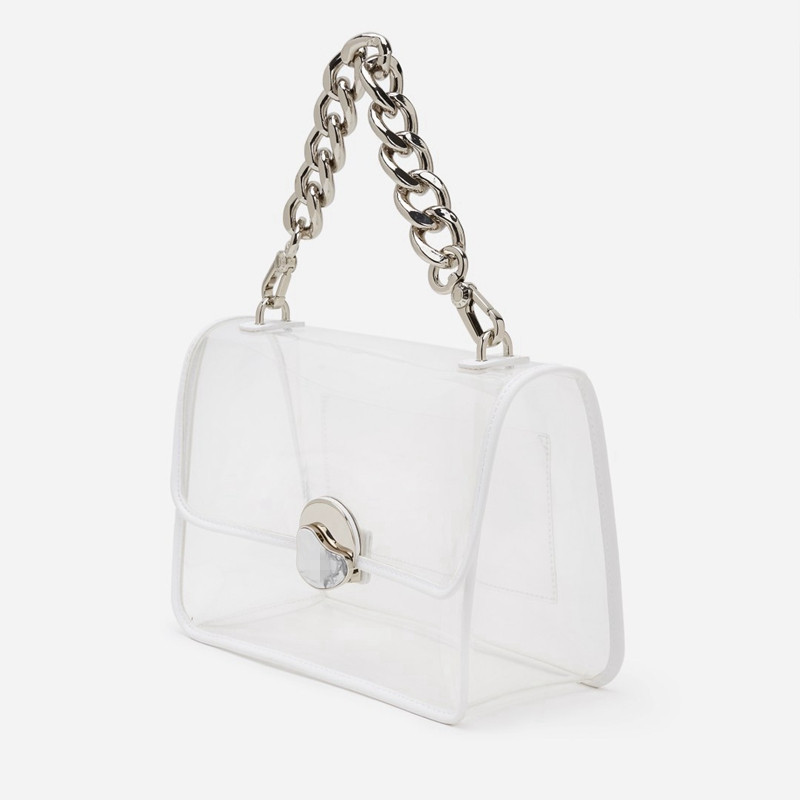 2019 New Women PVC Handbags Chain Clear Transparent Shoulder Messenger Bags Crossbody Bags2019 New Women PVC Handbags Chain Clear Transparent Shoulder Messenger Bags Crossbody Bags