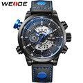 2016 weide lcd moda hombres excecise deportes relojes analógico digital display 3atm impermeable reloj de pulsera de la vendimia relojes militares