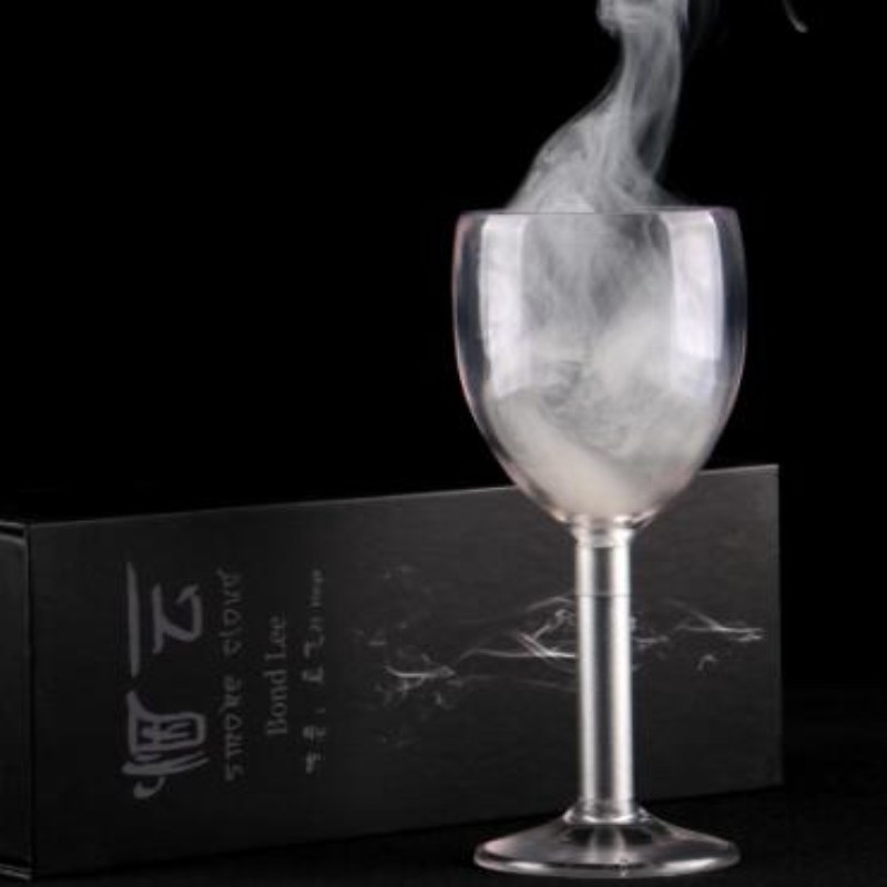 Proudly presented by Bond Lee, we have the best smoke in glass effect available for you! smoke cloud magic tricks magic props
