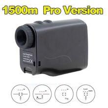 BOBLOV Pro Version 5-1500 M Laser Télémètre Mesureur De Vitesse 6X Télescope Monoculaire Balle De Golf Distance Testeur Livraison gratuite