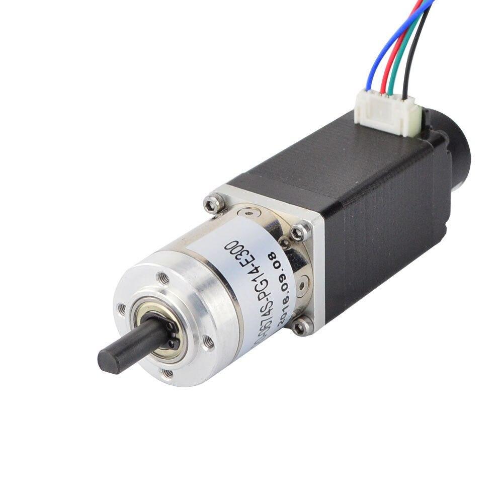 Nema 11 Stepper Motor Bipolar L=51mm w/ Gear Ratio 14:1 Planetary Gearbox nema 17 gear stepper motor l 26mm with planetary gearbox ratio 40 1