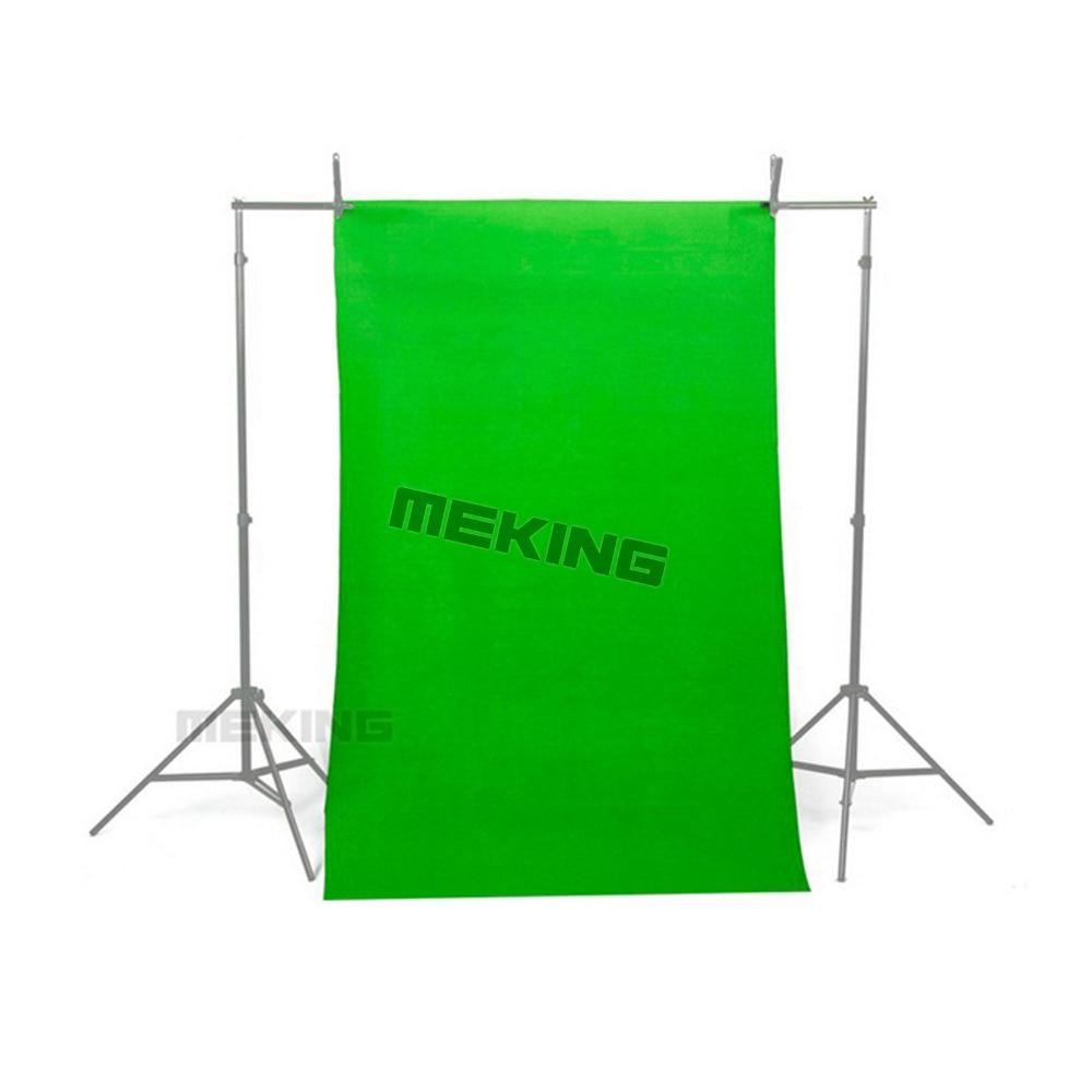 NOUVEAU 10 * 20ft/3*6 M Chroma Key Vert Solide Couleur Transparente Mousseline Toile de Fond Photographie Fond Coton tissu