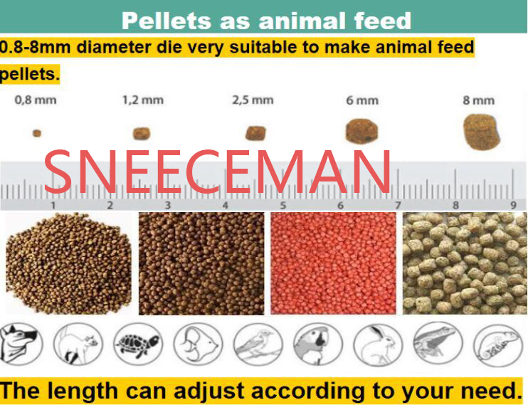 New-condition-fish-feed-pellet-making-machine