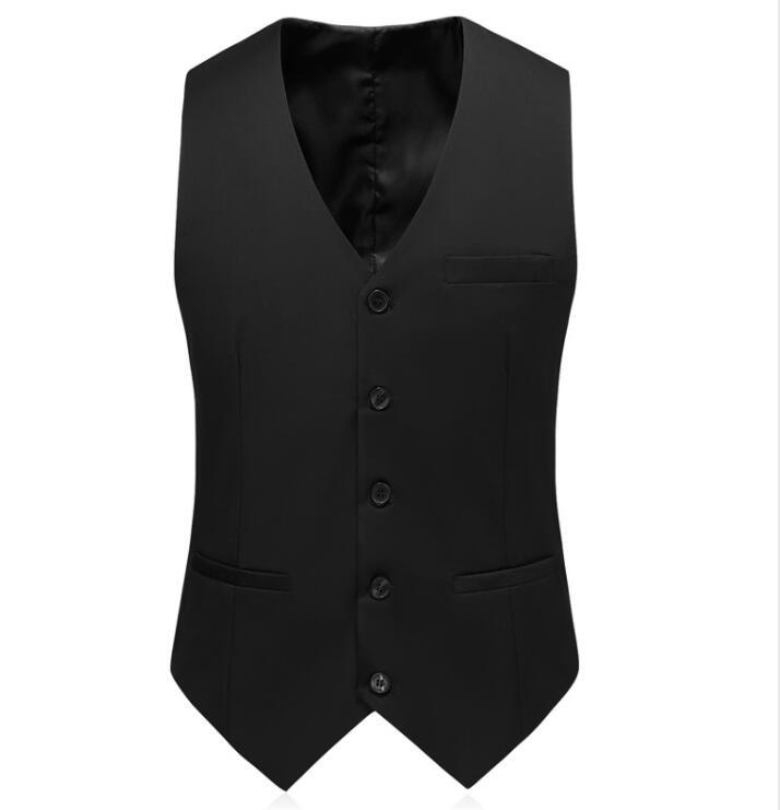 2019 New Style Blue Wedding Suits Men Casual Blazer Men's Business Party Good Quality Prom Suits Men 3 Pieces Jacket Pants Vest