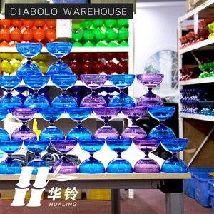 Image 5 - Chineseyoyo Lager Diabolo Jongleren Speelgoed Professionele Diabolo Set Verpakking 6 Kleur Voor Kiezen Met String Bag